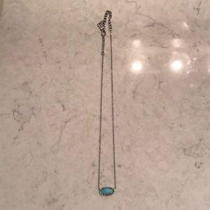 Turquoise Kendra Scott necklace!